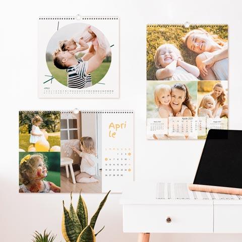 Calendari da parete 12 mesi 12 fogli + copertina